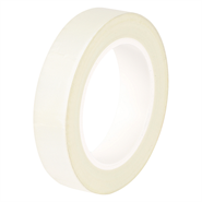 Advance Tapes AT4003 White Glass Cloth Tape 12mm x 33Mt Roll