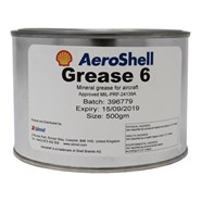 AeroShell Grease 6 500gm Tin *MIL-PRF-24139A