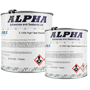 Alpha S1358 High Heat Resistance Brushable Adhesive