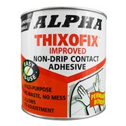 Alpha Thixofix Easy Spread Contact Adhesive 1Lt Can