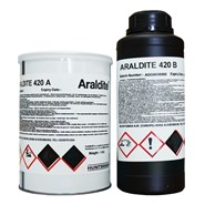 Araldite 420 A/B Epoxy Adhesive System 1.4Kg Kit *ASNA 4125 Issue B