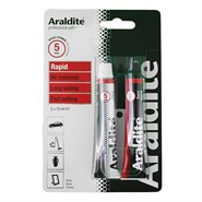 Araldite Rapid Epoxy Adhesive 30ml (2 x 15ml) Tubes Blister Pack
