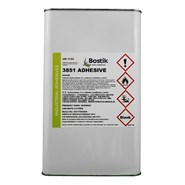 Bostik 3851 Solvent Based Latex Adhesive 5Lt Can