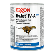 Mobil HyJet IV-A+ Aviation Hydraulic Fluid in various sizes