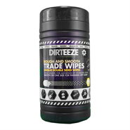 Dirteeze Rough And Smooth Degreaser Wipes (80 Tub)