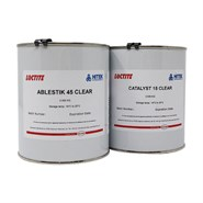 Loctite Ablestik 45 & Catalyst 15 Clear 1Kg Kit (was Eccobond)