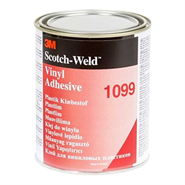 3M Scotch-Weld 1099 Nitrile Based Vinyl Adhesive 1Lt Can