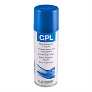 Electrolube CPL Clear Protective Lacquer 200ml Aerosol