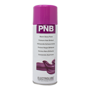 Electrolube Pnb Black Gloss Paint 400ml Aerosol