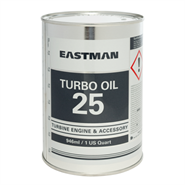 Eastman Turbo Oil 25 in various sizes