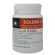 Fry Fryolux T1333 Leaded Solder Paint 60/40 125gm Pot
