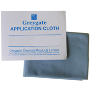 Greygate Blue Application Cloth 8in x 5in (Pack of 10) (Meets DTD763A)