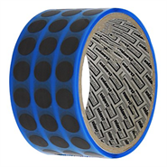 adhere INT630 Anti Static Conformal Coating Masking Tape 6mm Dots 1000 Per Roll