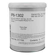 Indestructible Paint IP8-1302 Insulating Varnish 1Lt Tin *DEF STAN 80-129 Type 2