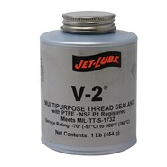 Jet-Lube V-2 Multi-Purpose Thread Sealant (S-716) 1Lb Can *TT-S-1732