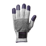 KleenGuard® G60 Endurapro™ Level 3 Cut Resistant Glove Grey/Purple (Ambidextrous) Size 8 M (Pack of 12 Pairs)