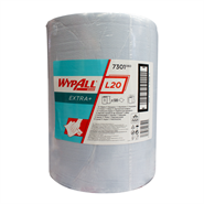 WypAll® 7301 L20 Extra Wide Wiper Blue 33cm x 38cm 500 Sheet Jumbo Roll