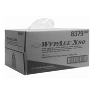 WypAll® 8379 X80 Cloth White 31.8cm x 42.7cm 160 Sheet Box