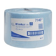 Kimberly Clark 7140 Wypall L10 Wipers Blue 24cm x 38cm 1500 Sheet Roll