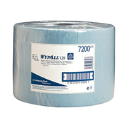 WypAll® 7338 L20 Wipers Blue 46cm x 24cm 116 Sheet Compact Roll