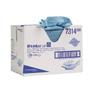 WypAll® 7314 L30 Wiper Blue 33cm x 42cm 280 Sheet Brag Box