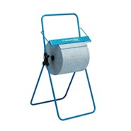 Kimberly-Clark Professional* Mobile Floor Stand Wipe/Large Roll Dispenser Blue