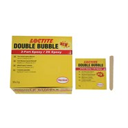 Loctite Double Bubble (Mix & Fix) Epoxy Adhesive A/B Kit (1 Box of 50 x 3gm Satchets)