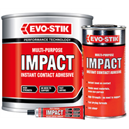EVO-STIK Impact Instant Contact Adhesive in various sizes