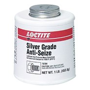 Loctite LB 8150 SV (Known as 767 Silver Grade Anti Seize) 1Lb Brush Top Can