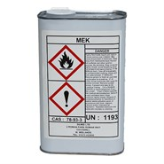 MEK (Methyl Ethyl Ketone) 1Lt Can *BS1940