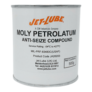 Jet-Lube Moly Petrolatum Aircraft Spark Plug Anti Seize Compound 500gm *MIL-T-83483