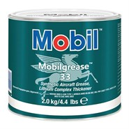 Mobil Grease 33 Synthetic Aviation Grease (G-354) 2Kg Tin *MIL-PRF-23827 Type I