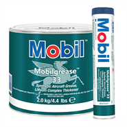 Mobil Grease 33 in various sizes