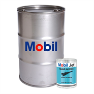 Mobil Jet Oil II in various sizes