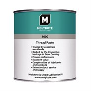 MOLYKOTE™ 1000 Solid Lubricant Paste availabe in various sizes