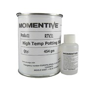 Momentive RTV 31 High Temp Potting Silicone Red and DBT Catalyst 1Lb (454gm) Kit
