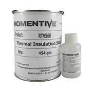 Momentive RTV 560 Electronic Silicone Compound Red c/w DBT Catalyst 1Lb (454gm) Kit (Freezer Storage -18°C)