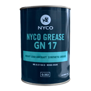 Nyco Grease GN 17 1Kg Can *MIL-G-21164D