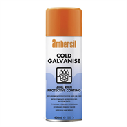 Ambersil Cold Galvanising Spray 400ml Aerosol
