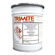 Trimite W301/A98/3 Eggshell White Epoxy Paint 5Lt Can *DEF STAN 80-161