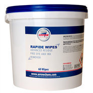 Arrow Rapide Dye and Ink Remover 60 Wipe Tub