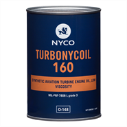 Nyco Turbonycoil 160 *MIL-PRF-7808L Grd 3 O-148 in various sizes