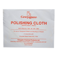 Greygate White Polishing Cloth 45cm x 45cm *BSF 137