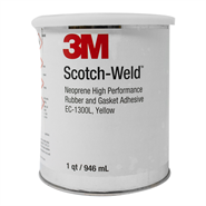 3M Scotch-Weld EC-1300L Contact Rubber and Gasket Adhesive (with Toluene) 1USQ Can *MMM-A-121