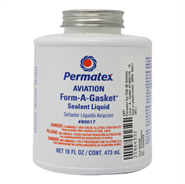 Permatex 3D Aviation Form-A-Gasket No3 16oz Bottle (Meets MIL-S-45180D Type 3)