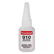 Permabond 910 (C3) Cyanoacrylate Adhesive 20gm Bottle (Fridge Storage 2°C-7°C)