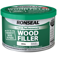 Ronseal High Performance Wood Filler White 550gm