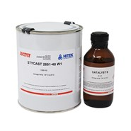 Loctite Stycast 2651-40 W1 & Catalyst 9 Epoxy Encapsulant 1Kg Kit