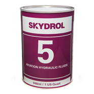 Skydrol 5 Hydraulic Fluid available in various sizes