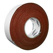 "Saint Gobain Strip-N-Stick 200A Silicone Sponge Tape 4.5m x 4.76mm (3/16"") 50mm Roll"